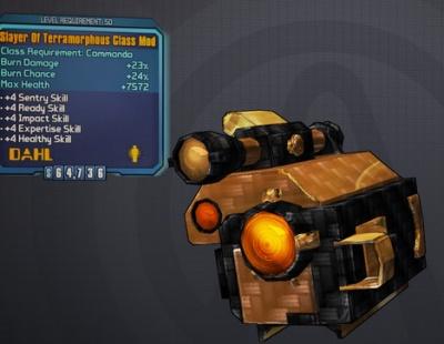Borderlands 2: Slayer of Terramorphous Commando Class Mod