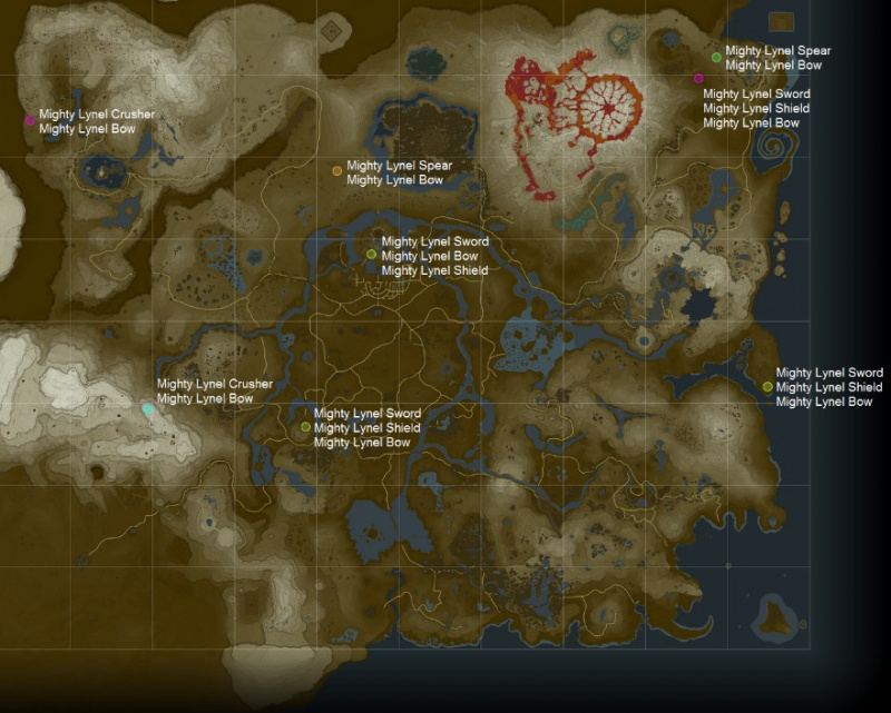 Breath of the Wild: Missable Weapons - Orcz com, The Video Games Wiki