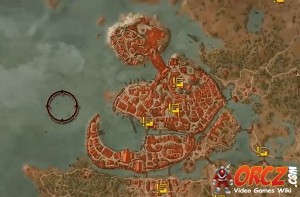 Witcher 3 novigrad map orcz the video games wiki local mapsedit gumiabroncs Choice Image