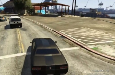 Gta V Take The Getaway Vehicle To Lockup Orcz Com The Video