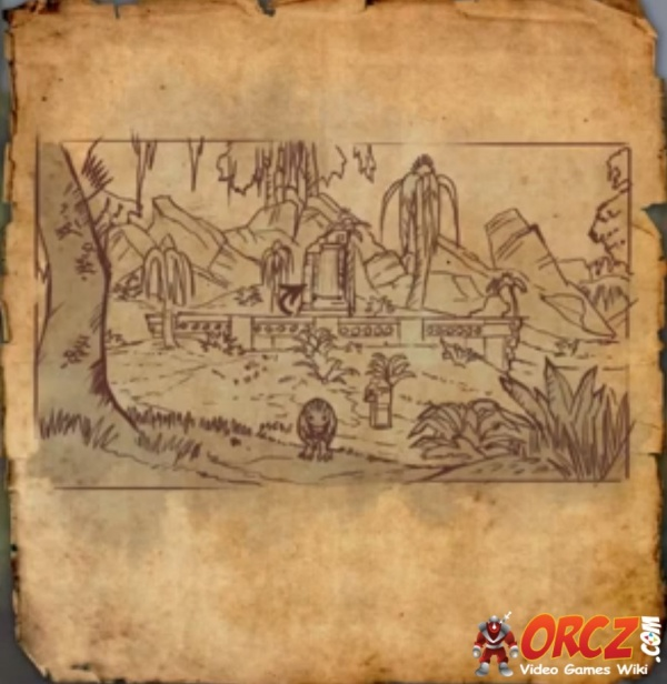 eso shadowfen treasure map iv orcz the video games wiki