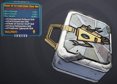 class mods borderlands 2 mechromancer
