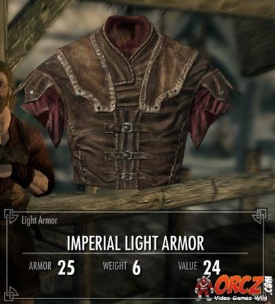 imperial light armor skyrim - photo #3