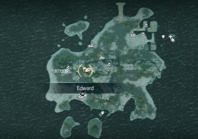 Assassin S Creed Iv Mariguana Island Treasure Map Orcz Com The Video Games Wiki