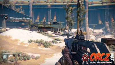 The mission cosmodrome cordon in destiny