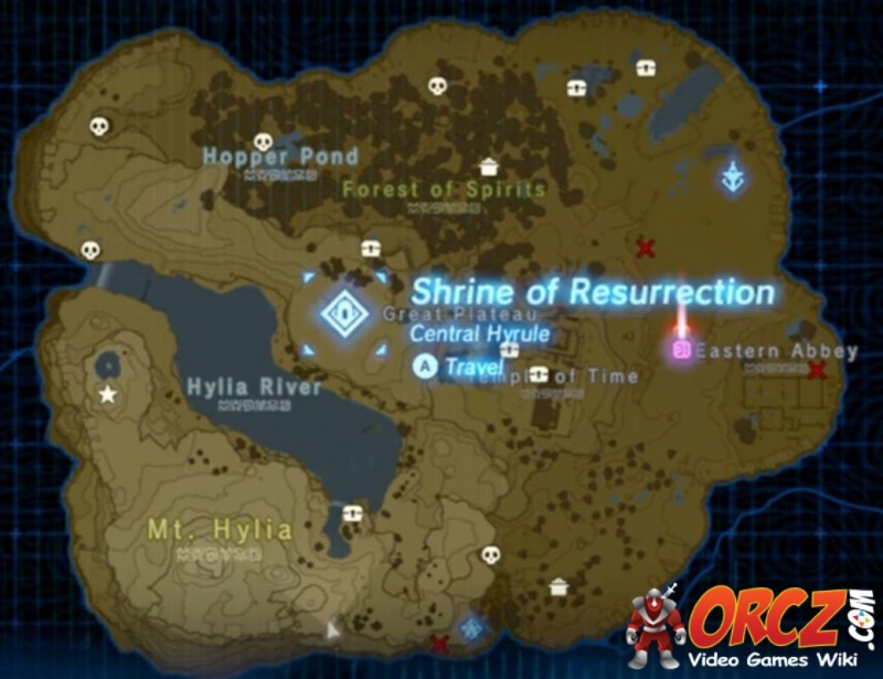 how to get to shrines zelda plateau