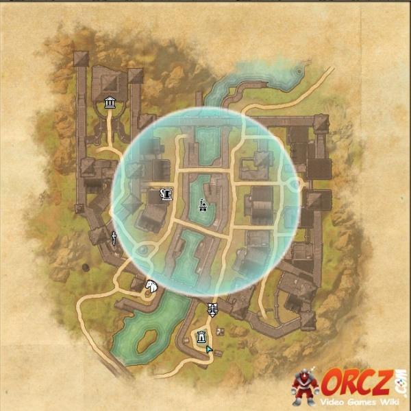 ESO Morrowind: Balmora Wayshrine - Map - Orcz.com, The Video Games Wiki