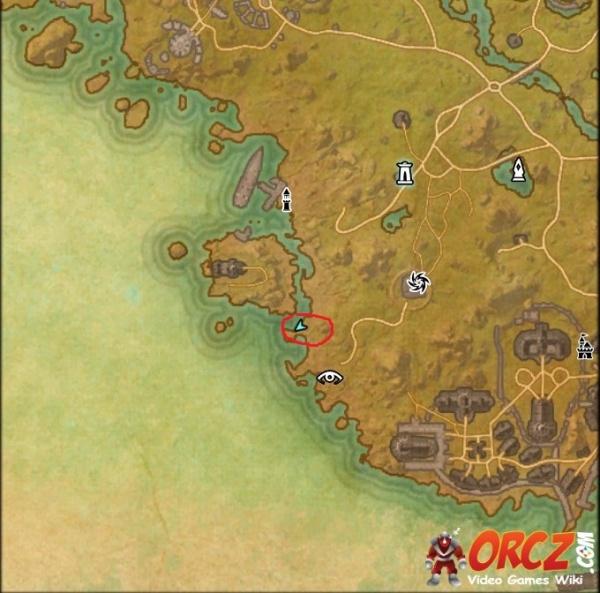 Auridon Treasure Map 1