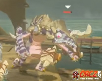 Breath Of The Wild Silver Lizalfos Orcz Com The Video