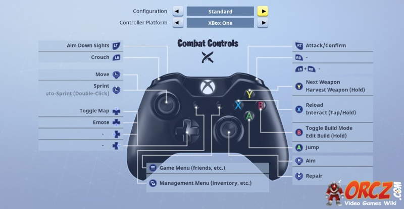 Fortnite Battle Royale Xbox Controller Layout Orczcom The Video