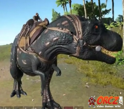 ark survival evolved: t-rex - orcz, the video games wiki