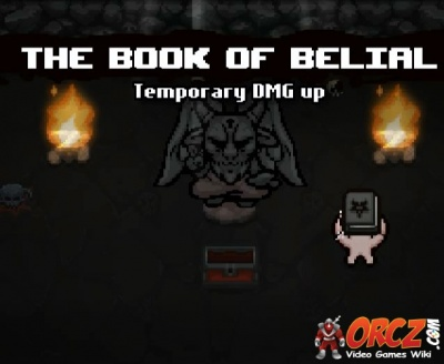 Binding Of Isaac Rebirth The Book Of Belial Orcz Com