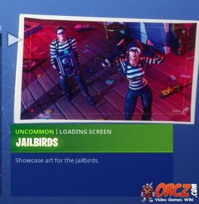 fortnite battle royale loading screen jailbirds orcz com the video games wiki - jailbird fortnite