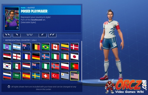 poised playmaker fortnite