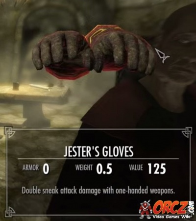 Skyrim: Jester's Gloves - Orcz com, The Video Games Wiki