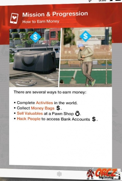 watch dogs 2 monney guide