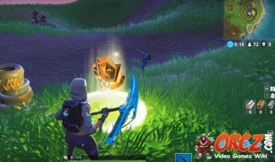 Fortnite Battle Royale Follow The Treasure Map Found In Salty