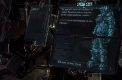 Snow Suit Dead Space 3 Dead Space 3 Snow Suit