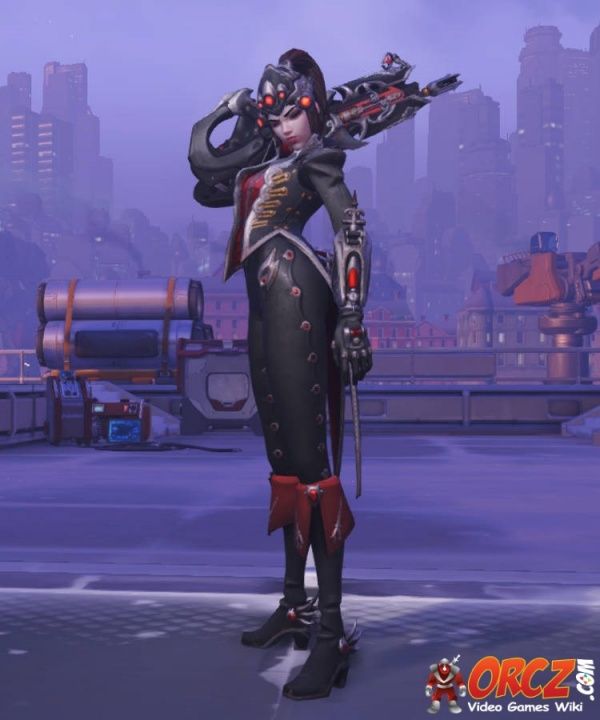 Image result for widowmaker overwatch huntres skin