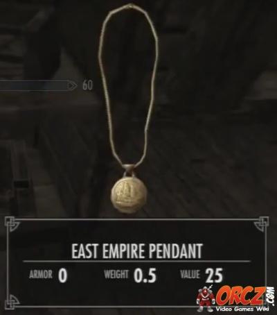 Skyrim Dragonborn: East Empire Pendant - Orcz com, The Video