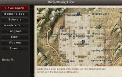 Age Of Wushu Scholars Bookshelves Locations