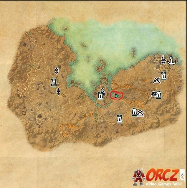 ESO: Stonefalls Treasure Map II - Orcz.com, The Video Games Wiki