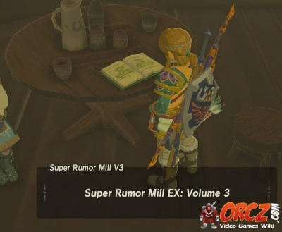 Breath Of The Wild Super Rumor Mill Ex Vol 3 Orcz Com The Video Games Wiki