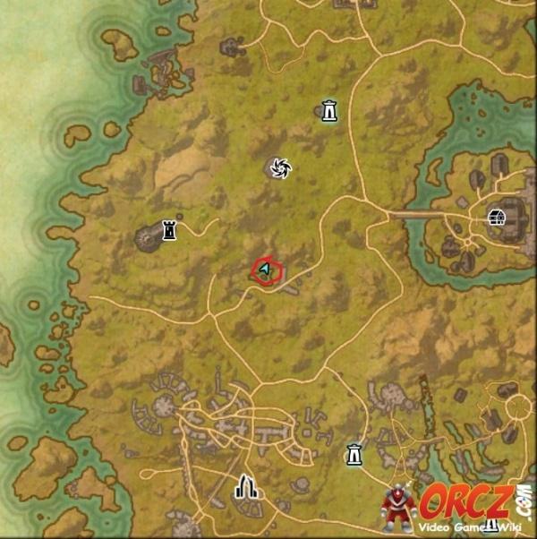 ESO: Auridon Treasure Map II - Orcz.com, The Video Games Wiki