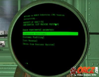 Fallout  Build Connect Terminal