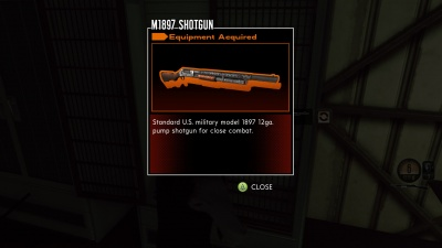 The bureau: xcom declassified: m1897 shotgun orcz.com the video