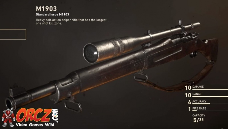 Call Of Duty Ww2 M1903 Orcz Com The Video Games Wiki