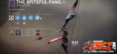 The Spiteful Fang in Destiny 2: Black Armory.