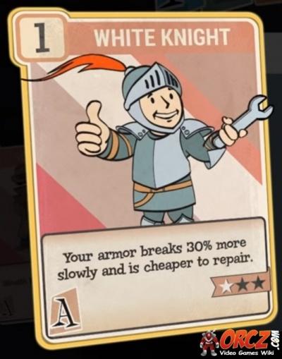 fallout 76  white knight