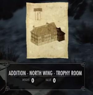 Skyrim Trophy Room Roof Framing Orcz Com The Video