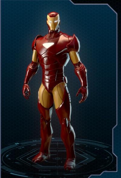 Marvel Heroes: Iron Man Extremis Armor Costume - Orcz.com ...