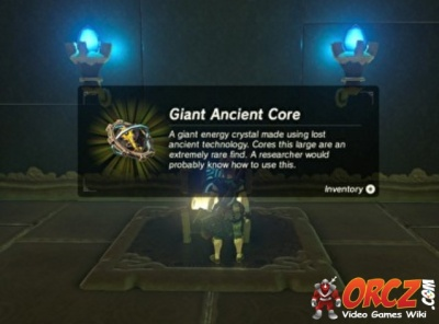 Breath Of The Wild Giant Ancient Core Orczcom The Video Games Wiki