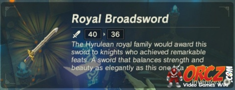 Breath of the Wild: Royal Broadsword - Orcz com, The Video