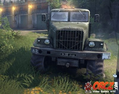 Truck Wheels And Tires >> Spintires: Type C-255 Truck - Orcz.com, The Video Games Wiki