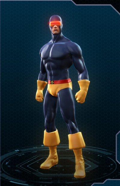 & Marvel Heroes: Cyclops Classic Costume - Orcz.com The Video Games Wiki