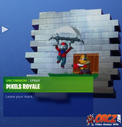 Fortnite Battle Royale: Spray Pixels Royale - Orcz com, The Video