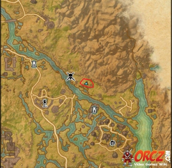 ESO: Shadowfen Treasure Map II - Orcz.com, The Video Games Wiki