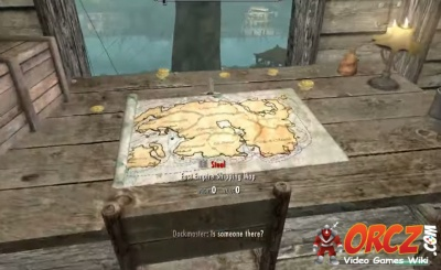 Skyrim: East Empire Shipping Map   Orcz.com, The Video Games Wiki