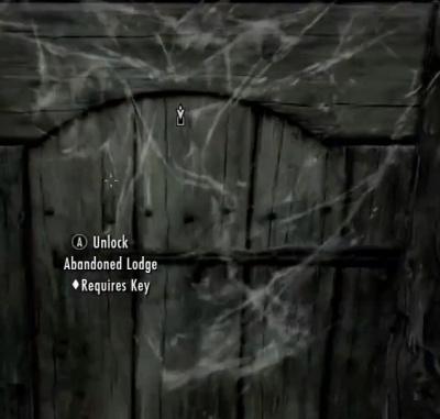 Skyrim Dragonborn Abandoned Lodge Locked Door - Orcz.com The Video Games Wiki & Skyrim Dragonborn: Abandoned Lodge Locked Door - Orcz.com The Video ...