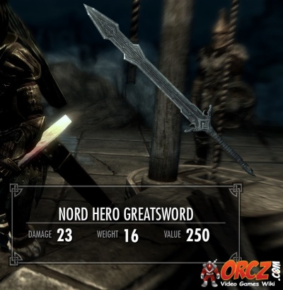 Skyrim: Nord Hero Weapon Set - Orcz.com, The Video Games Wiki
