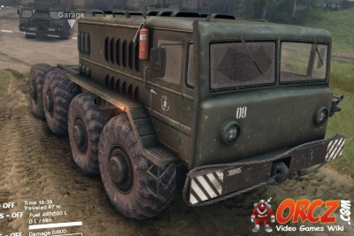 Spintires Type D 537 Truck Orcz Com The Video Games Wiki