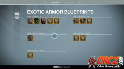 Destiny exotic armor blueprints orcz the video games wiki hunteredit exotic armor blueprints malvernweather Image collections