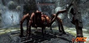 Wounded Frostbite Spider