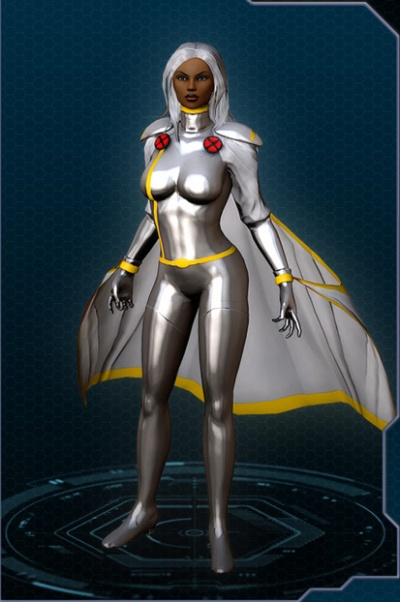 looks NOTHING like thisX Men Storm Costume