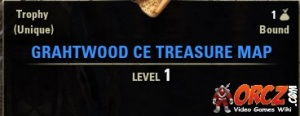 ESO: Grahtwood CE Treasure Map - Orcz.com, The Video Games Wiki