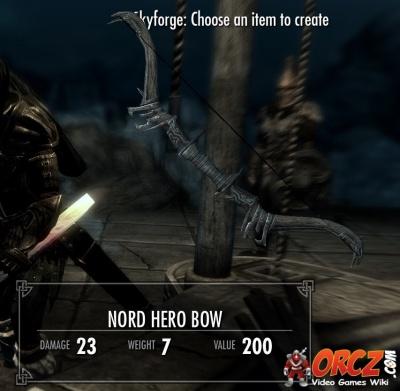 Skyrim nord bow